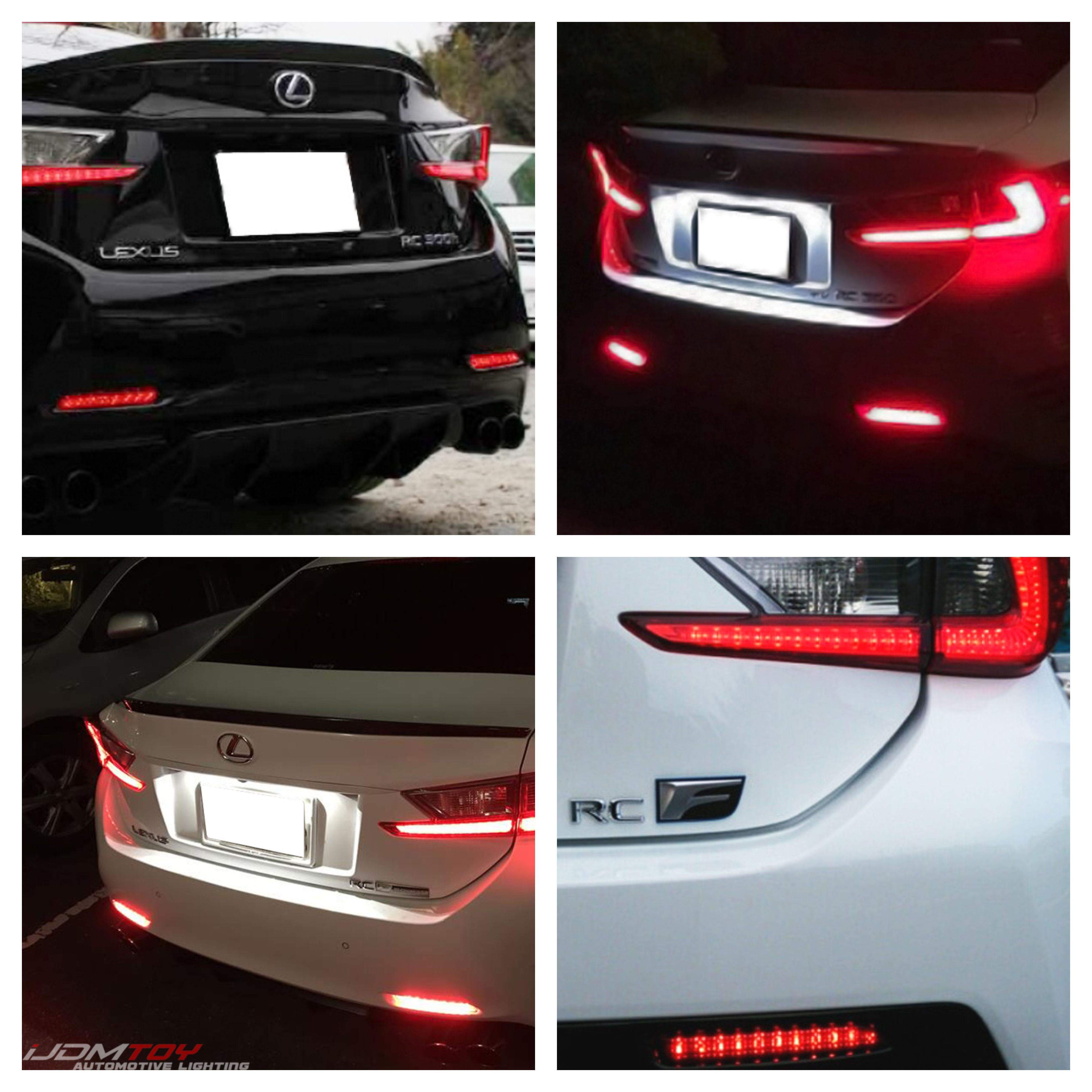 Bring Your Lexus To New Heights And Make It A Hotter Car To Drive With A Pair Of Brilliant Red Led Bumper Reflector Running Lights Apply Lexus Reflectors Led