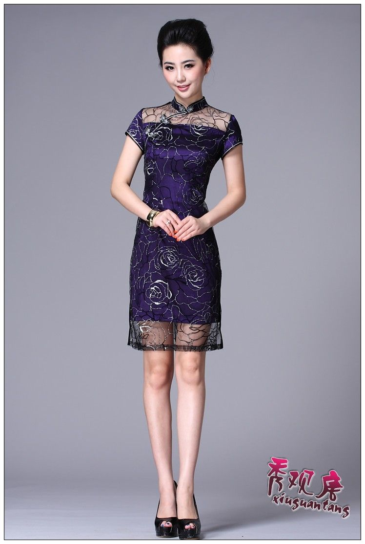 Aliexpress.com : Buy Fashion cheongsam lace cheongsam vintage cheongsam dress elegant g85885 from Reliable Cheongsams suppliers on We care you fashion shop! Online Store 914417