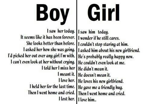 The Differences Between Boy And Girl Quotes Love Quotes Quotes