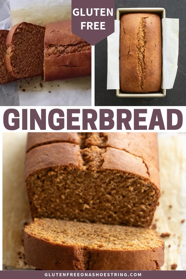 Gluten Free Gingerbread Loaf | Lightly Spiced Bread
