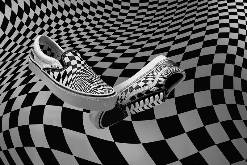 Warped Checkerboard Shoes | Sneakers