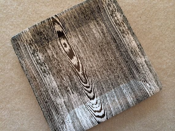 Large Black Wood Grain Paper Plate (set of ... & Large Black Wood Grain Paper Plate (set of 8)   PARTIES : KID ...