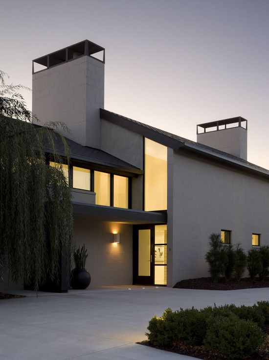 like the scored stucco and the clean lines home exteriors pinterest moderne h user. Black Bedroom Furniture Sets. Home Design Ideas