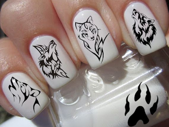 Pin by bloody sewing doll on cool nail designs pinterest wolf google search tumblr nail designs nail art nail design nail arts nailed it nail ideas prinsesfo Images