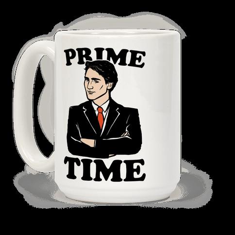 Prime Time Coffee Mug LookHUMAN LOVE.WANT.NEED. Mugs