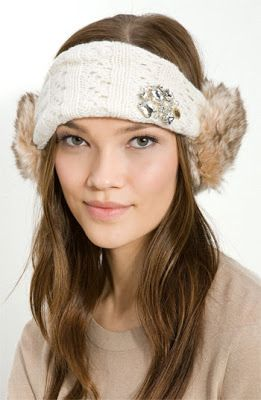 babawuff   READY STOCK  Authentic Fur Earmuff Headband - Juicy Couture   juicycouture 6ffd909b950