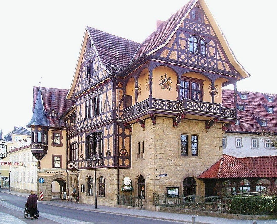 das henneberger haus built between 1894 bis 1895 by architect eduard fritze meiningen germany. Black Bedroom Furniture Sets. Home Design Ideas