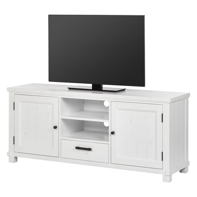 TV Lowboard South Hampton II   Akazie Teilmassiv   Weiß, Maison Belfort  Jetzt Bestellen Unter: Https://moebel.ladendirekt.de/wohnzimmer/tv Hifi  Moebel/tv  ...