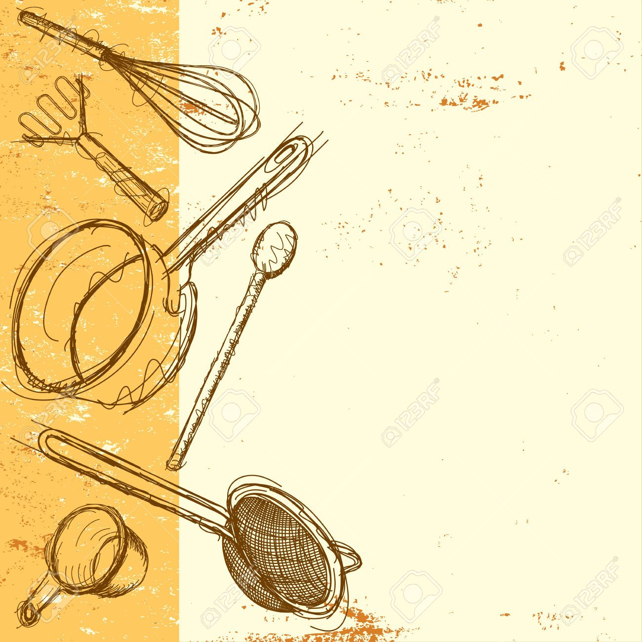 Kitchen Utensils Background: Pin By Hajar Rosli On Cooking Poster