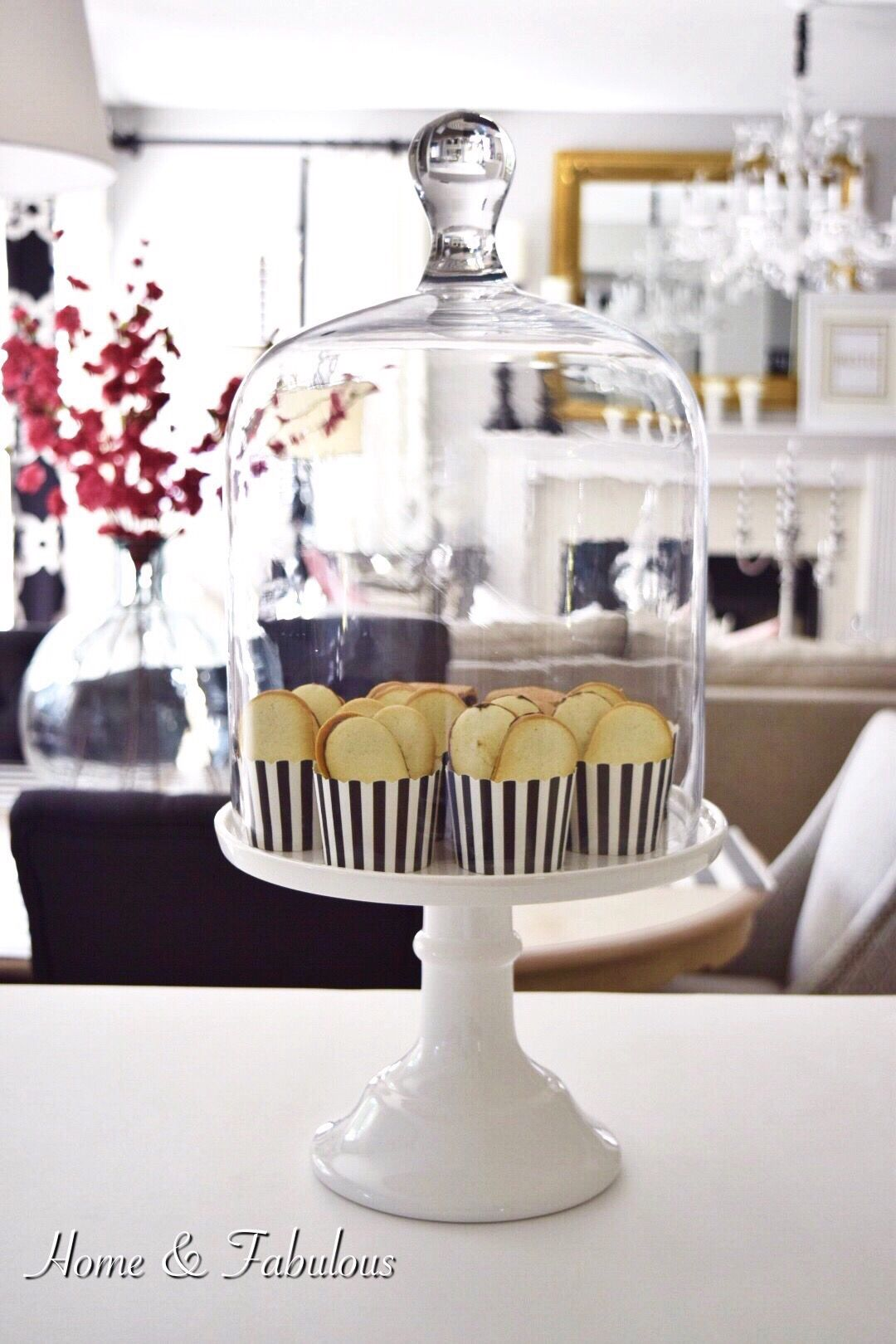Nice **Cake Plates With Domes Like This One From Homegoods Are A Pretty Way To  Display Treats For All Your Guests. Add A Fun Pattern Like These Cupcake  Liners ... Ideas
