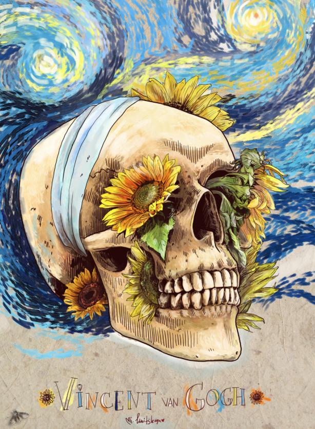 By Mimi Ilnitskaya Vincent Willem Van Gogh