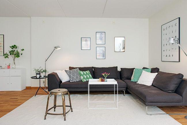 """El piso perfecto mientras espero """"mi futuro castillo""""   La Garbatella: blog de decoración, estilo nórdico."""
