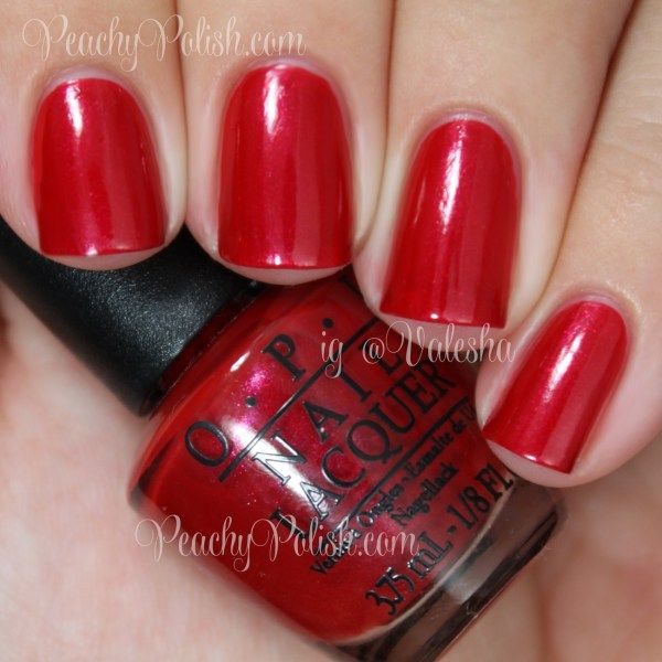 OPI Innie Minnie Mighty Bow | Peachy Polish