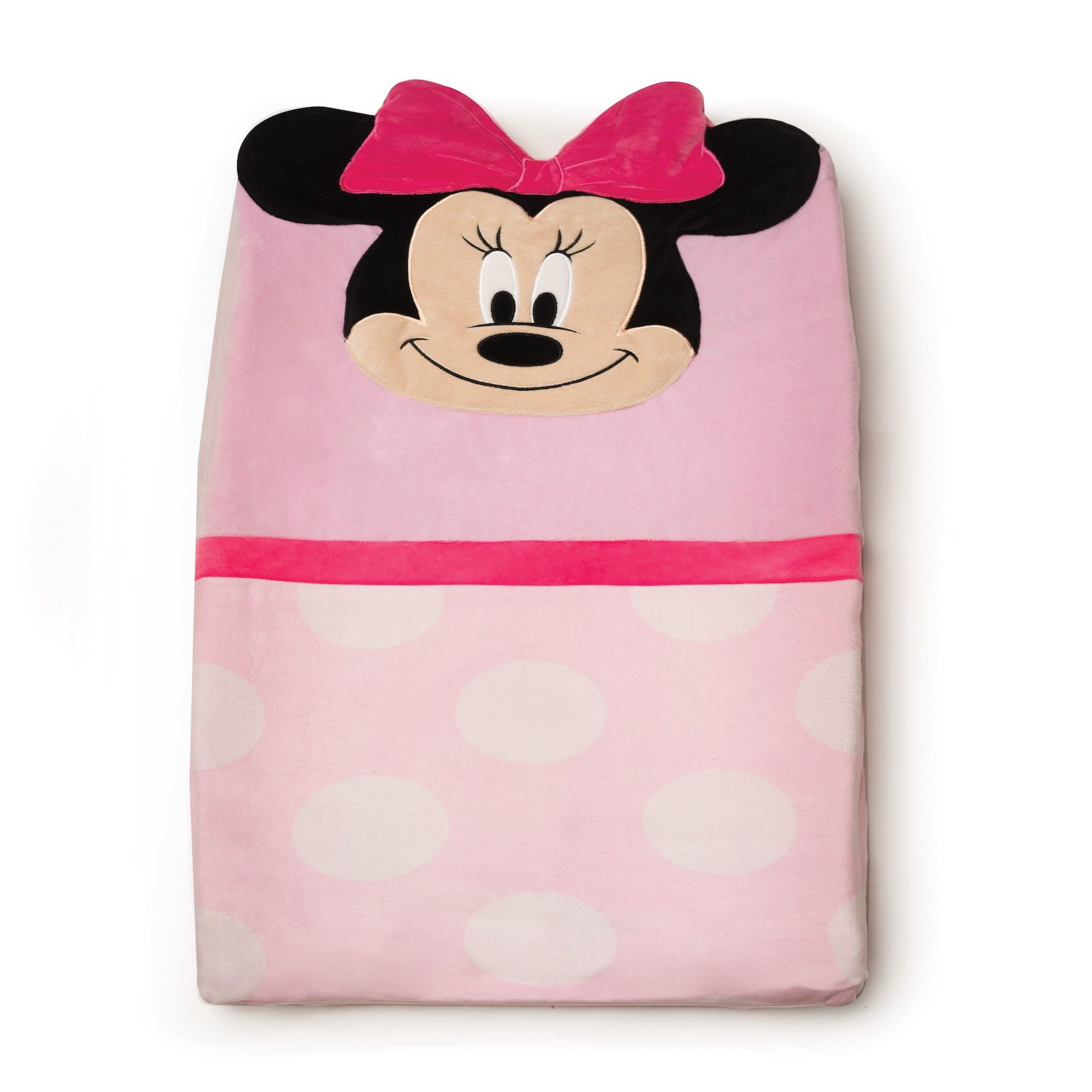 Minnie Mouse Character Changing Pad Cover In The Nursery