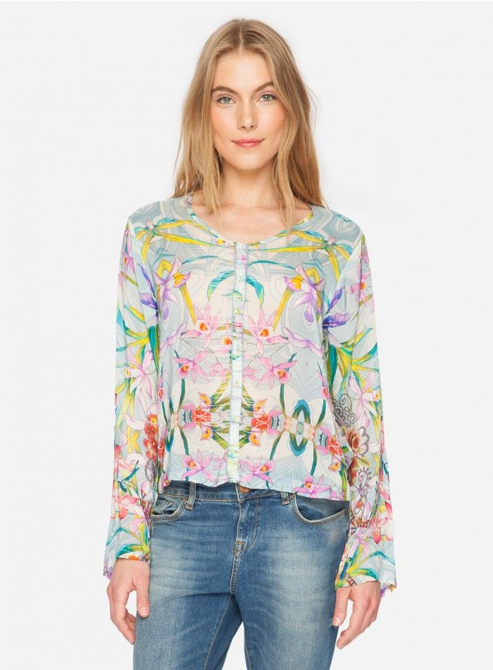 Lily Jacket The Johnny Was LILY JACKET is a versatile addition to your wardrobe! Wear this printed jacket with skinny jeans and heels for a girls night out!  - Long Sleeves, Front Buttons - Signature Prints - Care Instructions: Machine Wash Cold, Tumble Dry Low