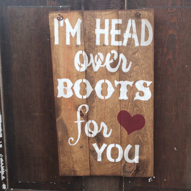 Cowboy boot bathroom decor - I M Head Over Boots For You Western Bathroom Decorwestern