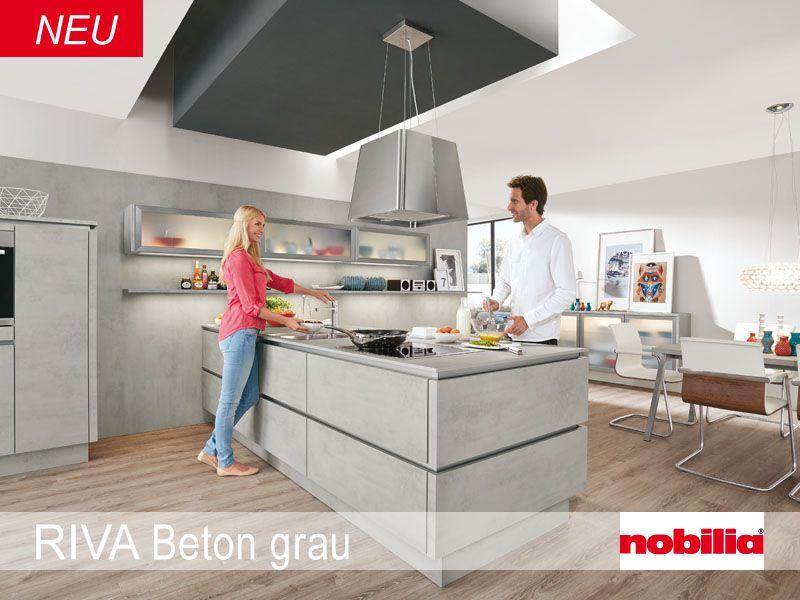 Nobilia Kuchennobilia Kuchen Mit Bildern Kuchentrends Betonkuche Kuche Beton