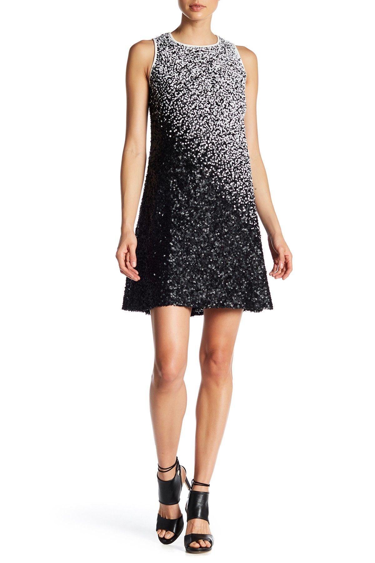 Ombre Sequined Cocktail Dress by Carmen Marc Valvo on @HauteLook