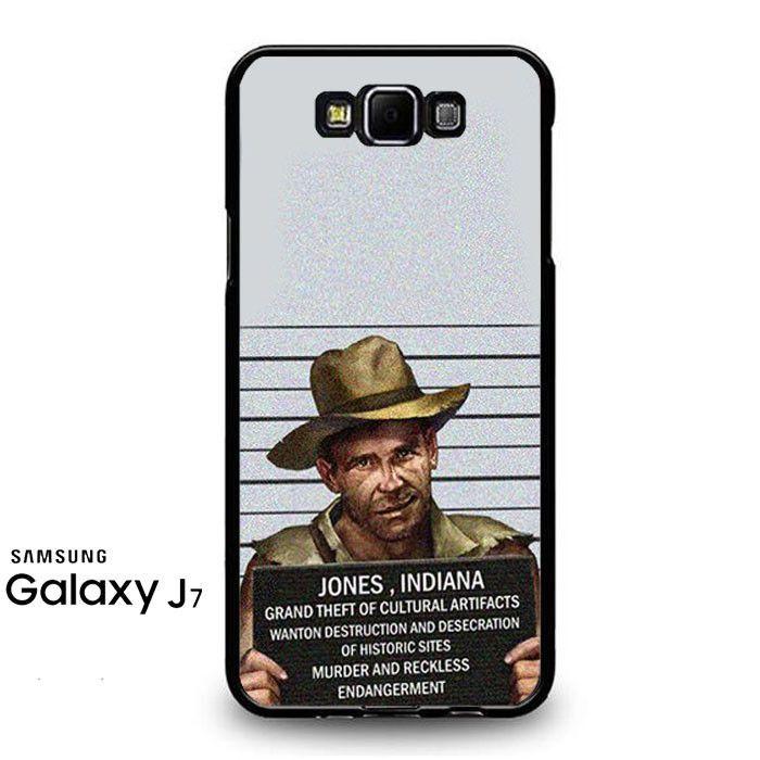 Indiana Jones Mugshot Samsung Galaxy J7 Prime Case