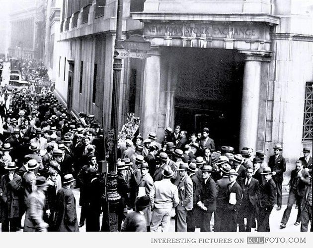 Wall Street Crash. 1929 | History