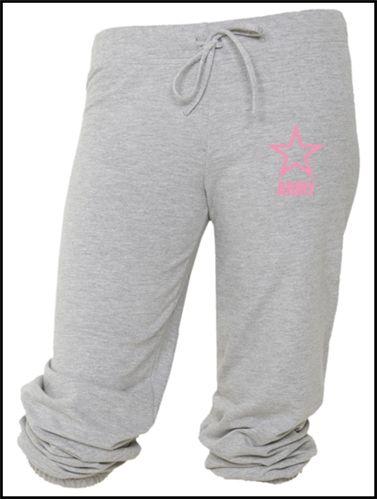 Ladies Army sweatpants.