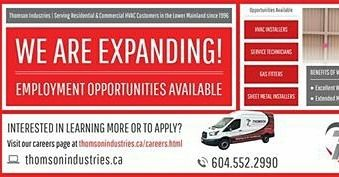 We Re Hiring Employment Opportunities For Hvac Installers Service