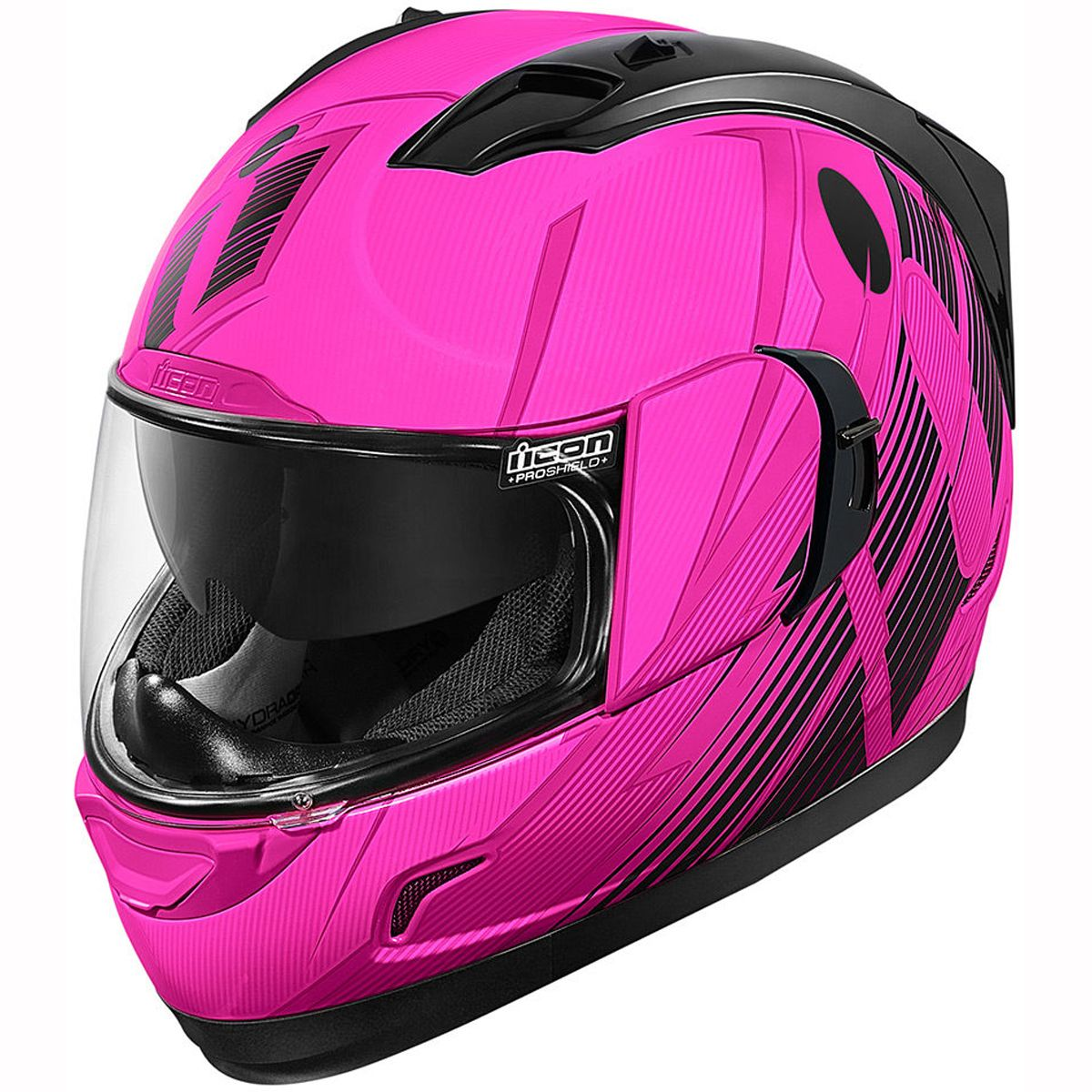Icon Alliance GT Primary Helmet Pink Womens motorcycle