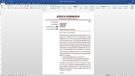 A Good Resume Gorgeous Resume Template With A Cover Letter And References Template Get A .