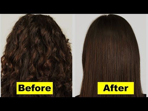 3 How To Make Hair Straight Naturally Without Straightener Overnight Permanent Hair Straightenin Straight Hairstyles Natural Straight Hair Hair Straightner