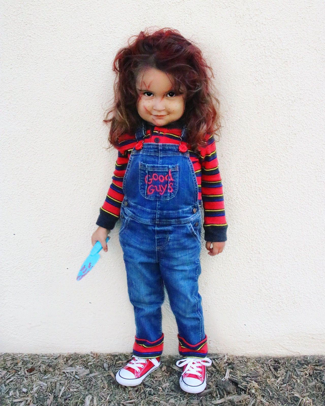 Toddler Chucky Halloween Costume Diy halloween costumes