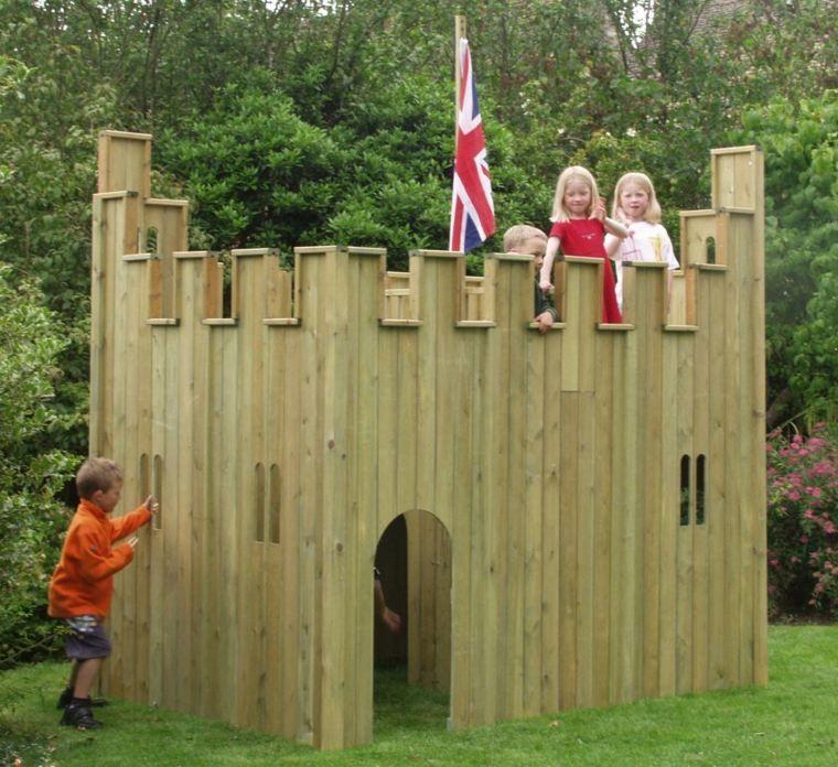 cabane de jardin pour enfant jeux en plein air - Cabane De Jardin En Bois Pour Enfant