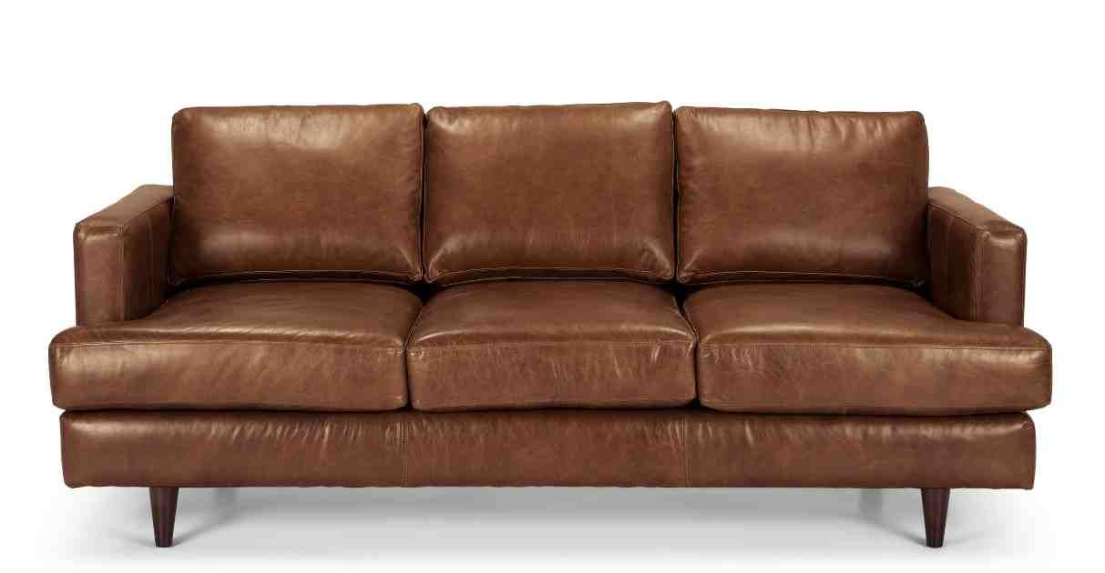Gamma Kelly Contemporary Leather Sofa Contemporary Leather Sofa