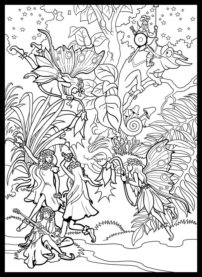 Fairies: This also has a four page printable to make a poster of ...