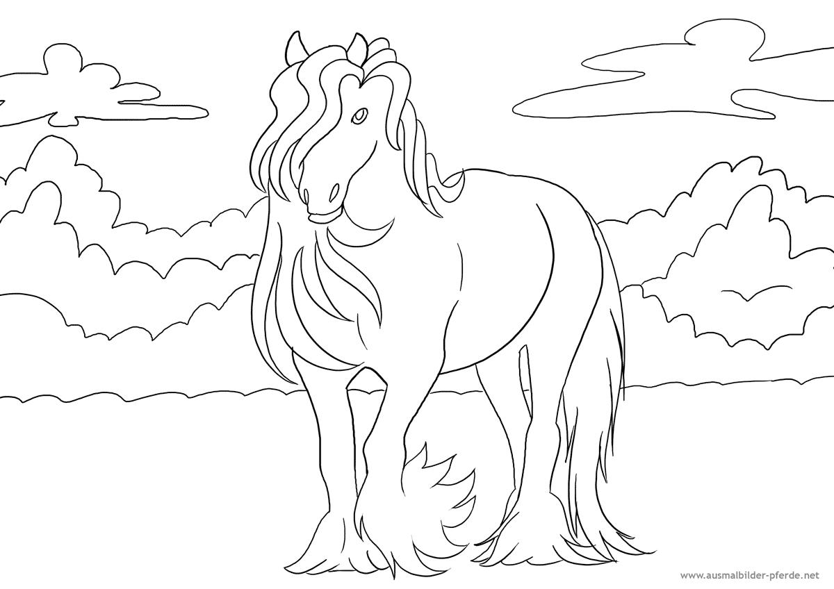 Großzügig Realistische Pferdesprung Malvorlagen Ideen - Entry Level ...