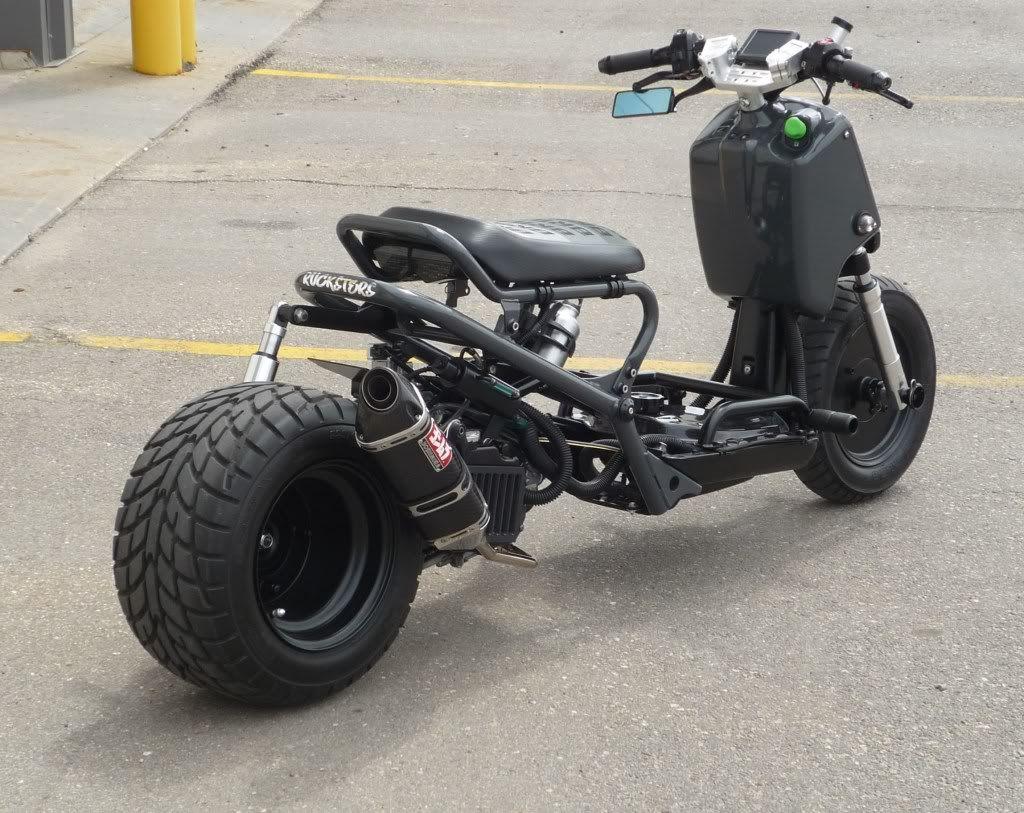 Honda Ruckus Custom Motorcycles Cars Trucks Vw S Pinterest