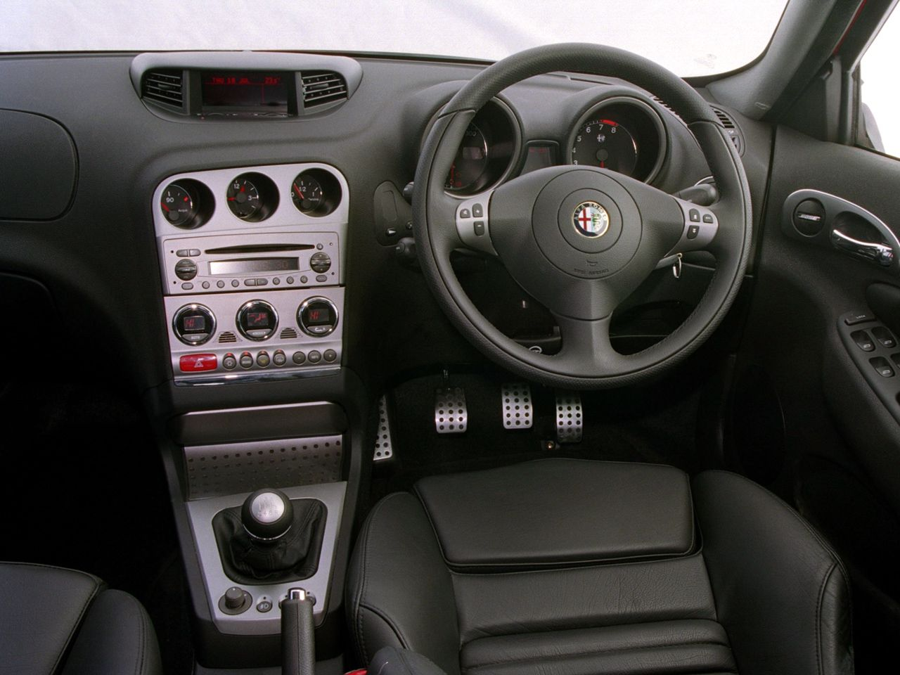 2002 Alfa Romeo 156 GTA | Interior and Dashboard | Pinterest | Alfa ...