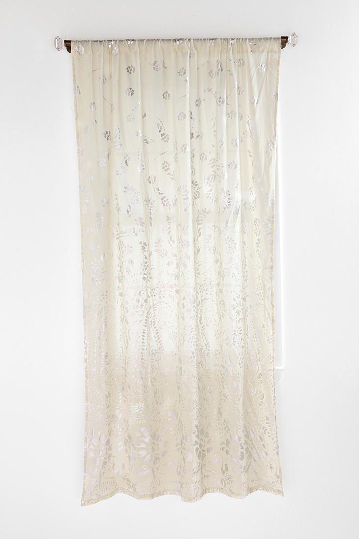 Foil falling curtain back door all things crafty pinterest doors
