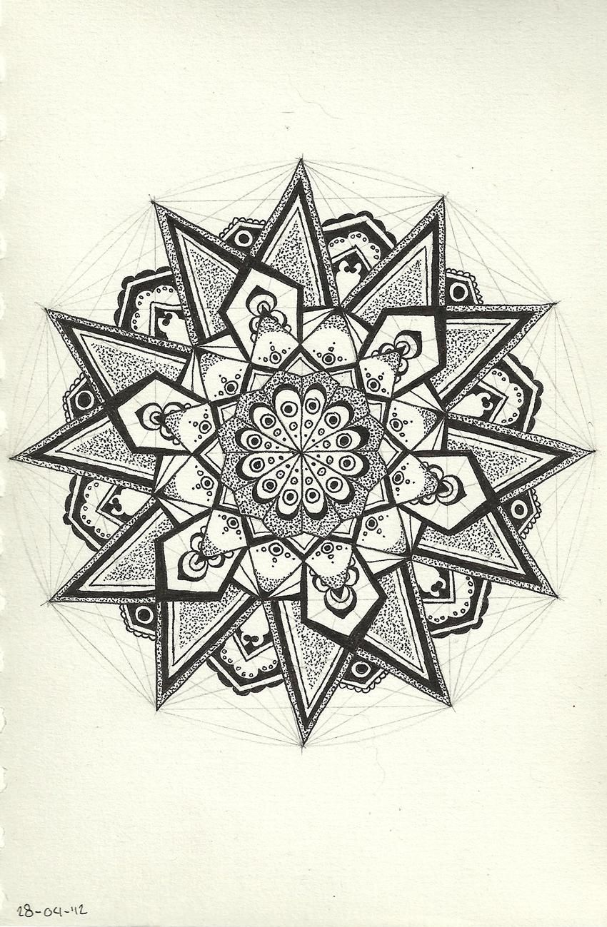 Pin by src4u on mandala tatouages mandala mandala mandala dessin - Dessin mandela ...