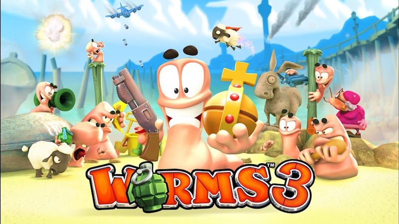 Worms 3 Para Iphone Y Ipad Gratis Para Todos Los Fan S Gamers De Ios