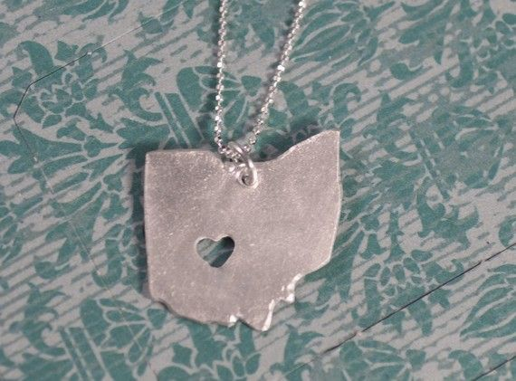 I <3 Ohio pendant!  The heart just needs to be further southwest so that it's over Cincinnati, though :).