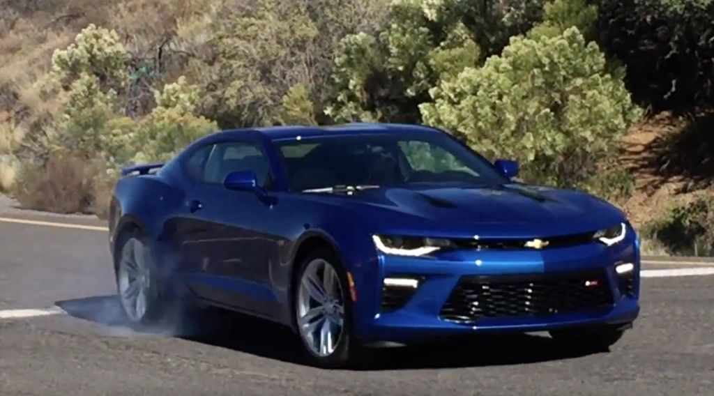 Hear The Lt1 V8 Roar In The 2016 Chevrolet Camaro Video Chevy