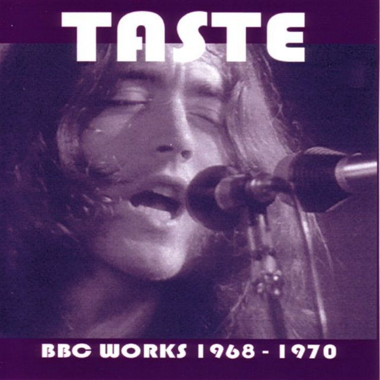 Taste at the BBC 68-70 bootleg front cover | RORY GALLAGHER
