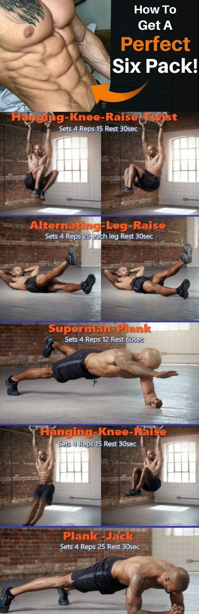Abs Workout: How To Get The Ultimate 6 Pack - GymGuider.com