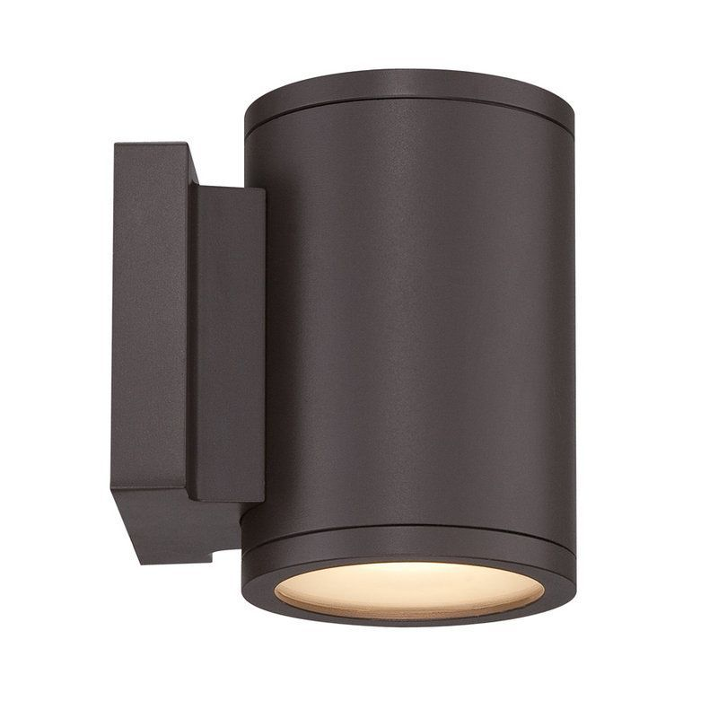 Wac Lighting Ws W2604 Led Outdoor Wall Sconce Bronze Sconces