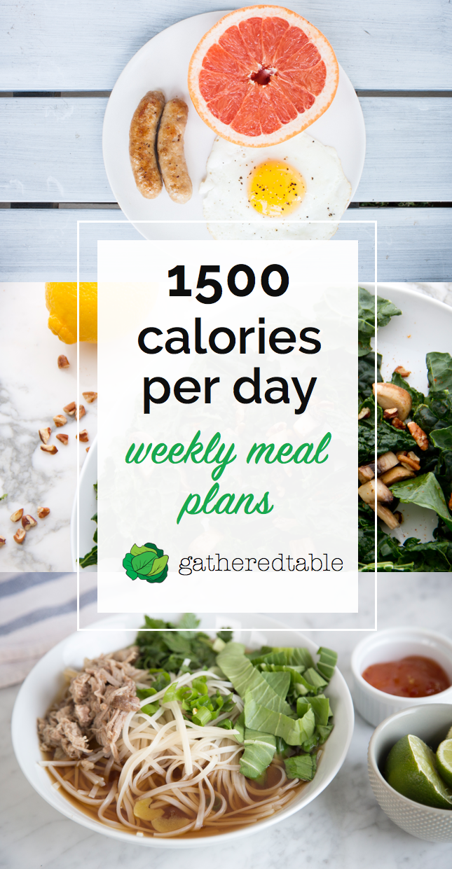Introducing 1500 calorie meal plans, curated by nutritionists and featuring  wholesome, delicious recipes for 3 meals/day + snacks.