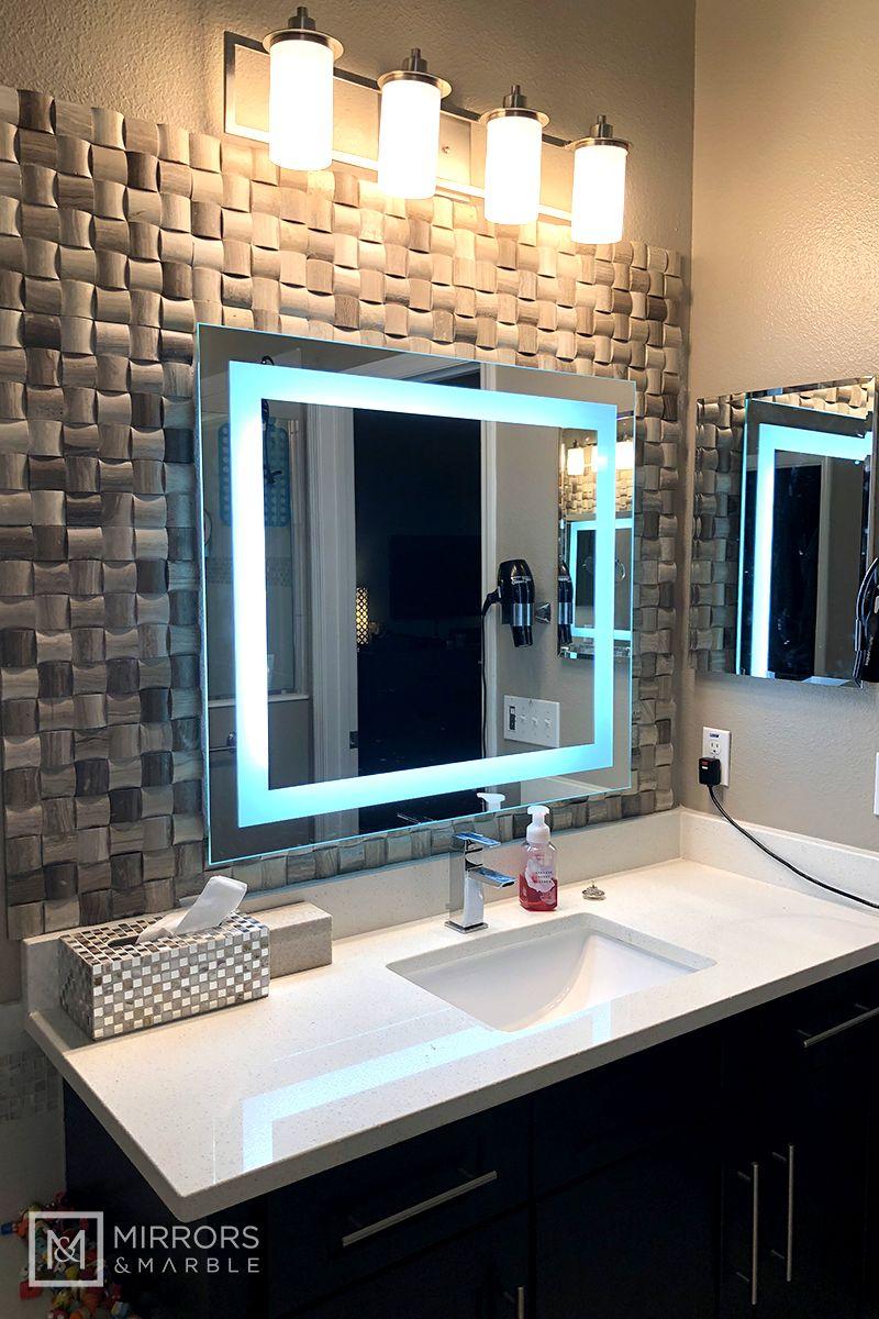 Front Lighted Led Bathroom Vanity Mirror 36 In 2021 Bathroom Design Luxury Bathroom Interior Design Bathroom Vanity Style
