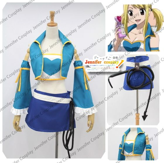 Fairy Tail Lucy Heartfilia Cosplay Costume New Version Any Size J - Fairy Tail Lucy Heartfilia Cosplay Costume New Version Any Size J