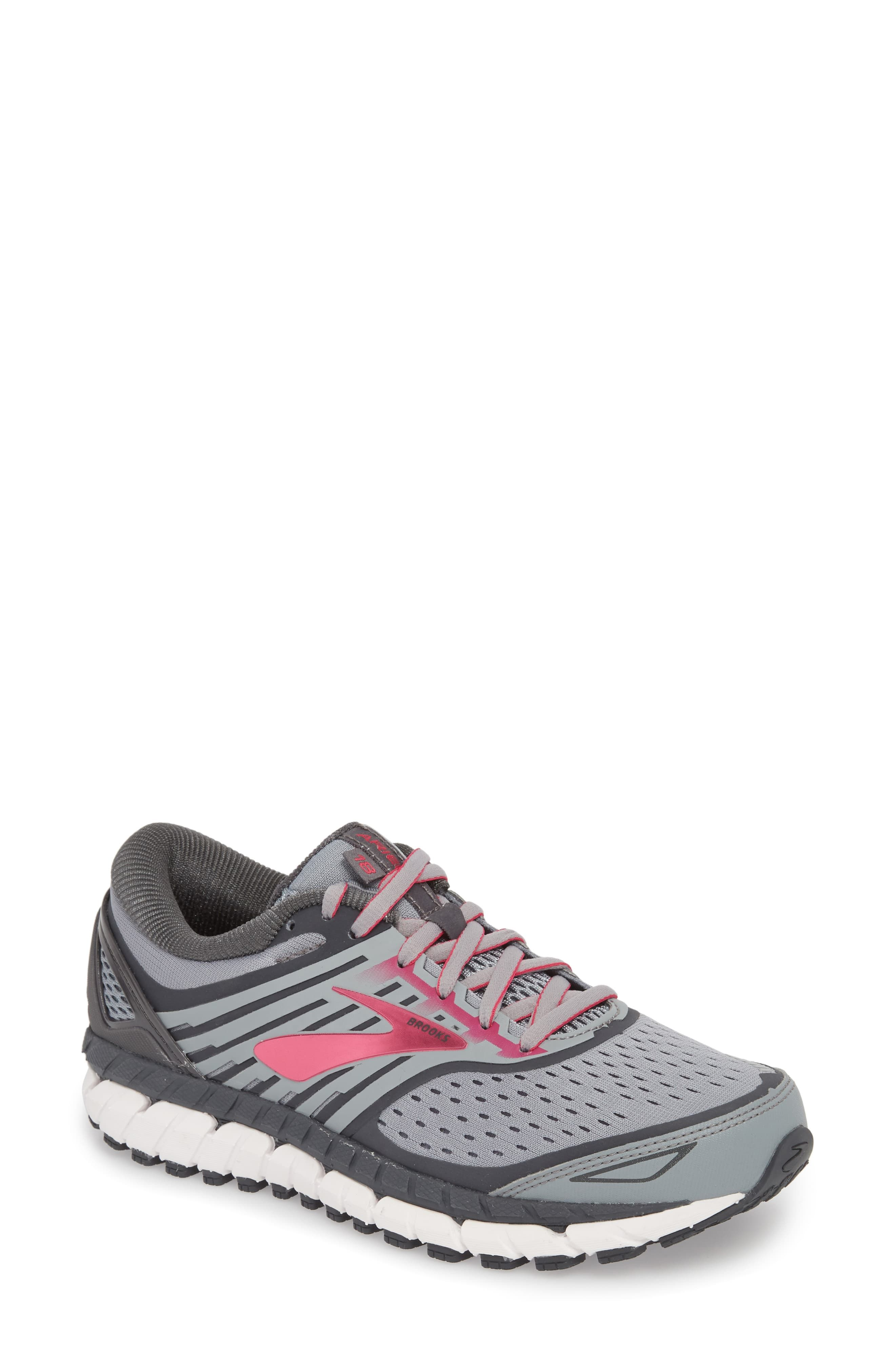 check out ae493 47bf7 Women's Brooks Ariel 18 Running Shoe, Size 6.5 D - Black in ...