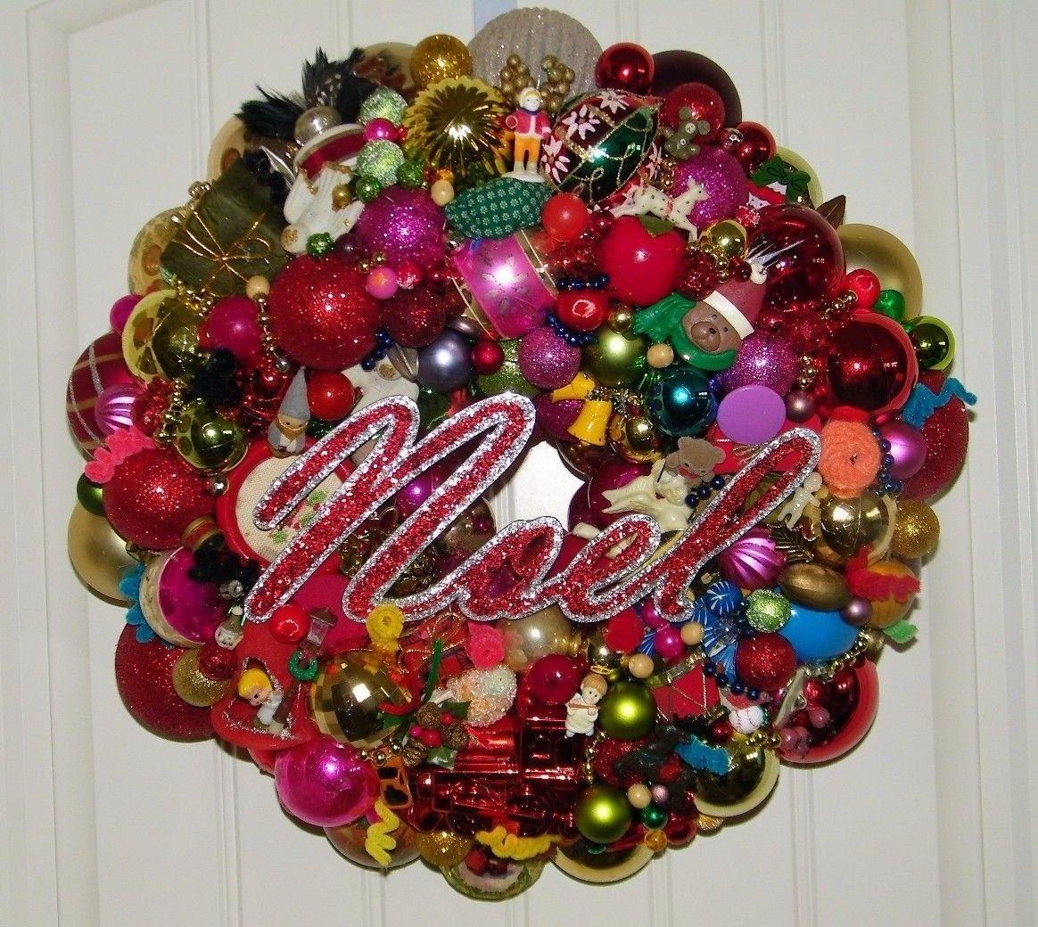 Pin on Vintage Christmas Wreath