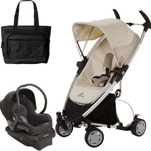 Quinny Zapp Xtra Folding Seat Stroller Travel System with ...